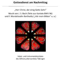 Plakat Gottesdienst